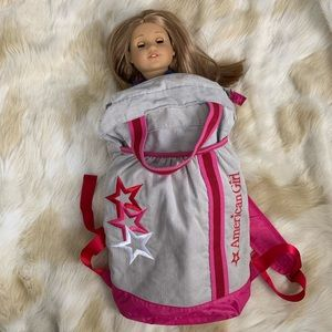 American girl backpack bag